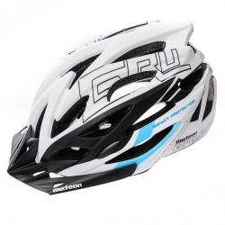 KASK ROWEROWY METEOR GRUVER white/black/blue-75328