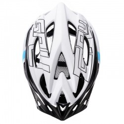 KASK ROWEROWY METEOR GRUVER white/black/blue-75329