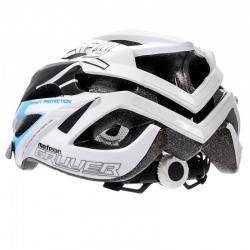 KASK ROWEROWY METEOR GRUVER white/black/blue-75331